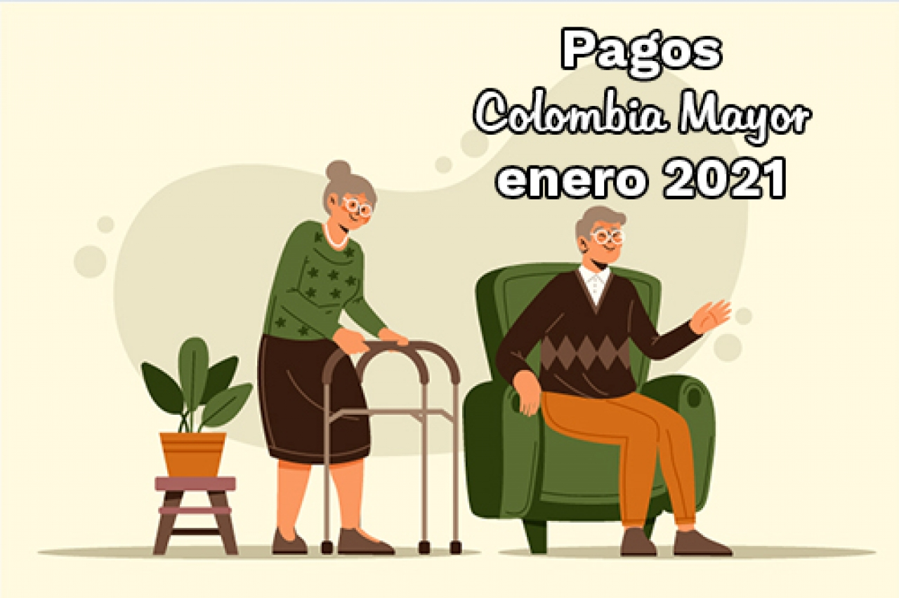 Pagos Colombia Mayor - enero 2021